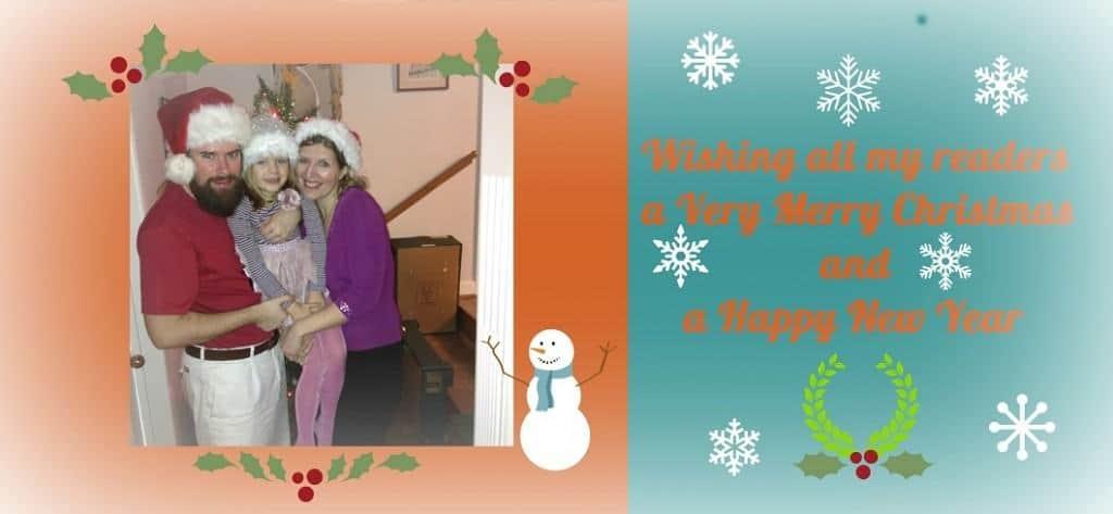 Family Christmas banner 1