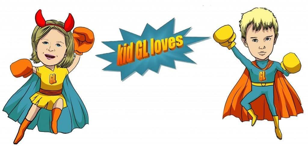 kidGLloves and The Great Custom Cartoon Bakery Caper!