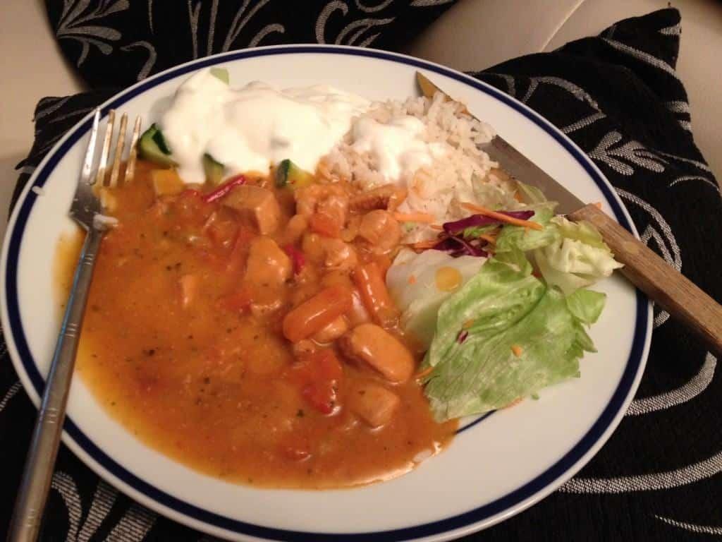 Diet Chef's Chicken Rogan Josh