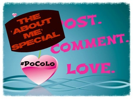 Post Comment Love. The 'About Me' Special.