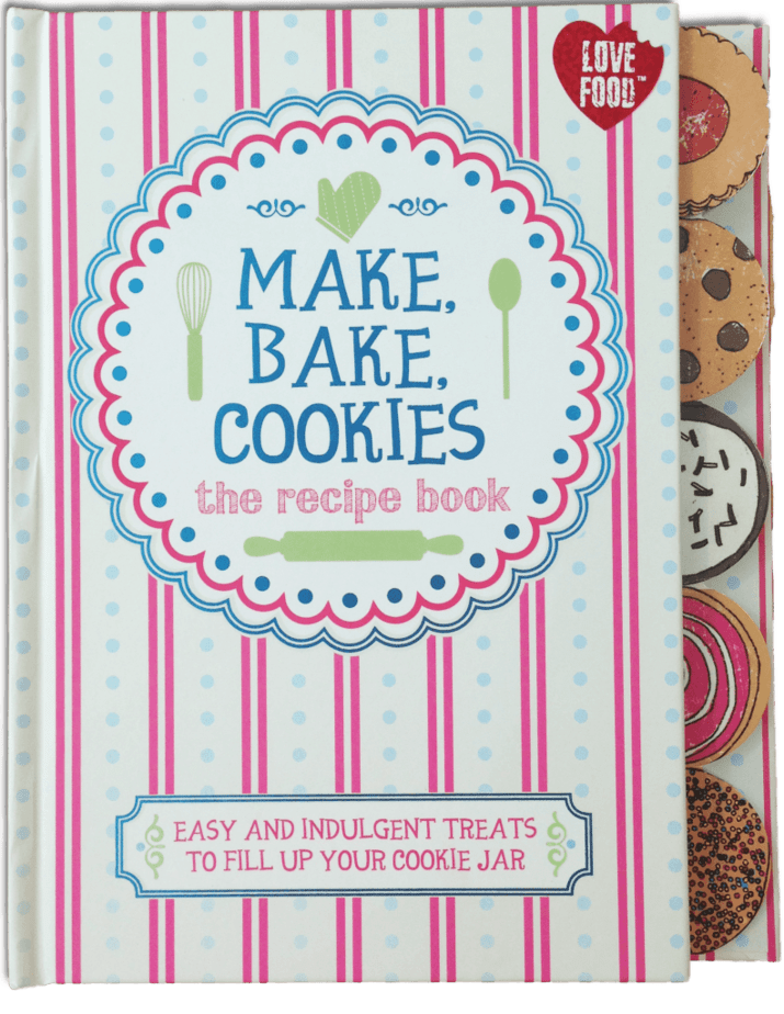 Make, Bake, Cookies: The Recipe Book. A Parragon Book Buddy Review
