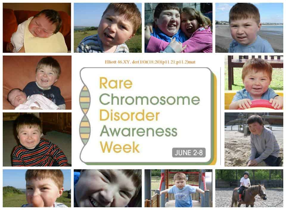 Rare Chromosome Disorder Awareness Week 2nd to 8th June 2014