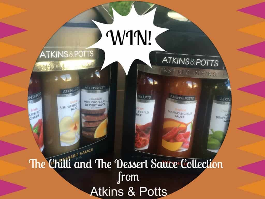 Win an Atkins and Potts Savoury and Sweet Sauces Gift Set
