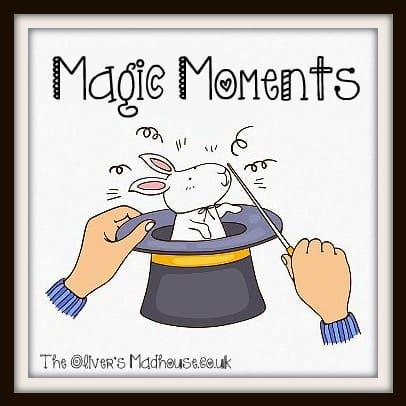 Magic Moments. Monday 9th June 2014