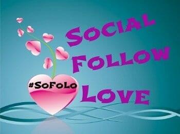 Social Follow Love #SoFoLo – this week it's a Mash-Up!
