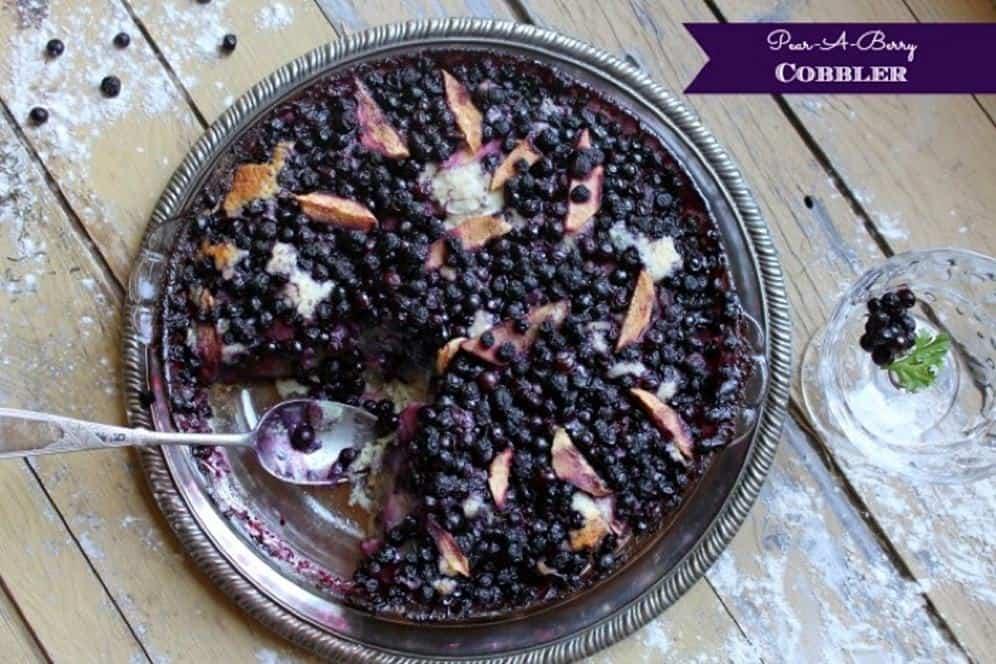 Guest Post: Pear-A-Berry Cobbler Recipe