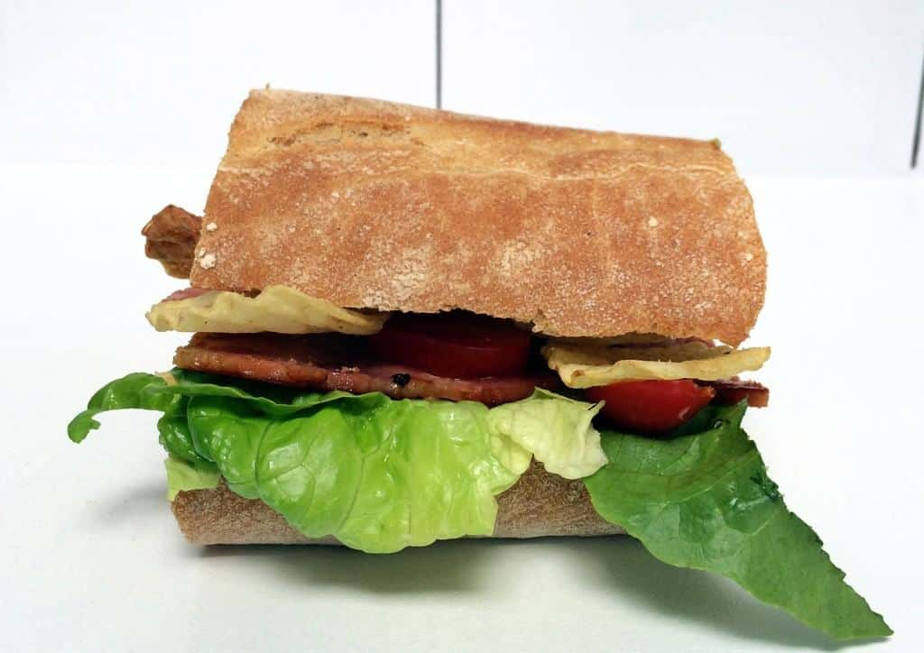 The Bacon Salad Extraordinaire. My Crisp Sandwich with Seabrook and #crispsarnieweek