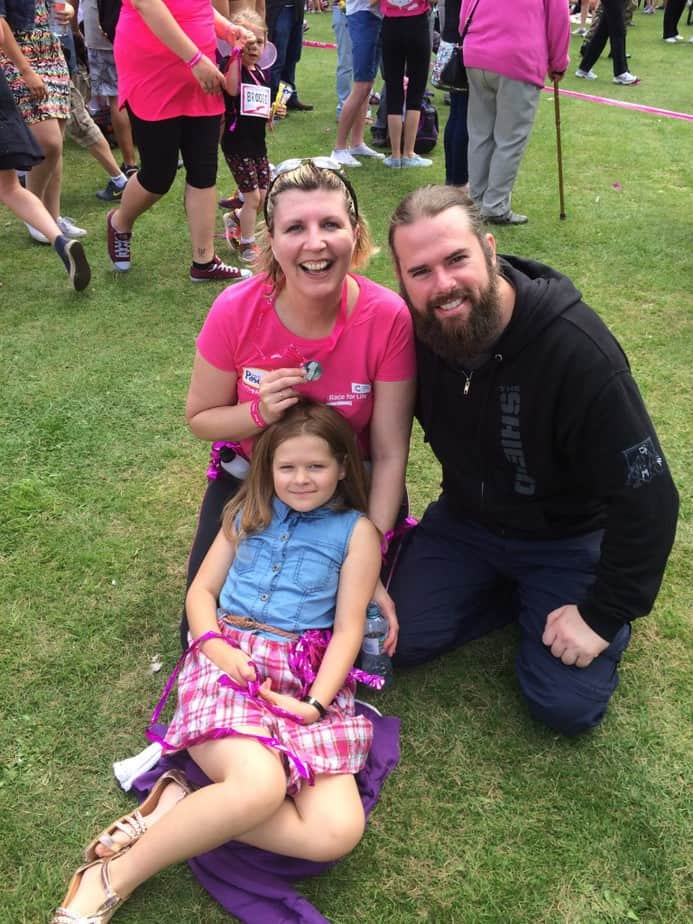 My Race for Life Experience, Thanks to Brioche Pasquier.