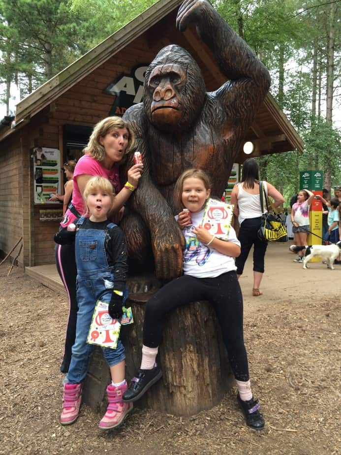 Monkeying Around, Thanks to Go Ape and Vimto!