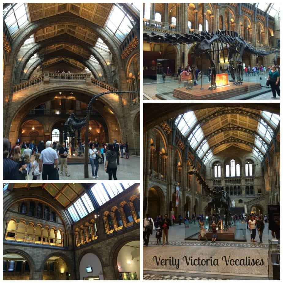 #NewThings Challenge – Visit a New Place. The Natural History Museum.