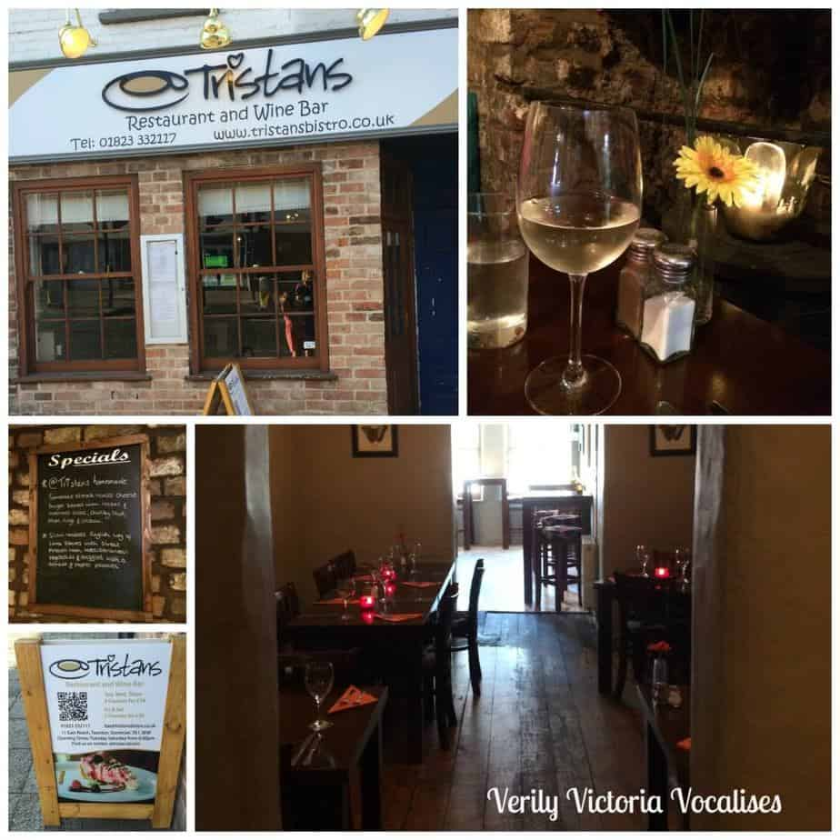 A Review of Tristan's Bistro in Taunton, Somerset.