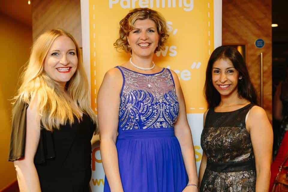 Me with Alison Perry and Kiran Chug. Photo Credit: tomarber.co.uk