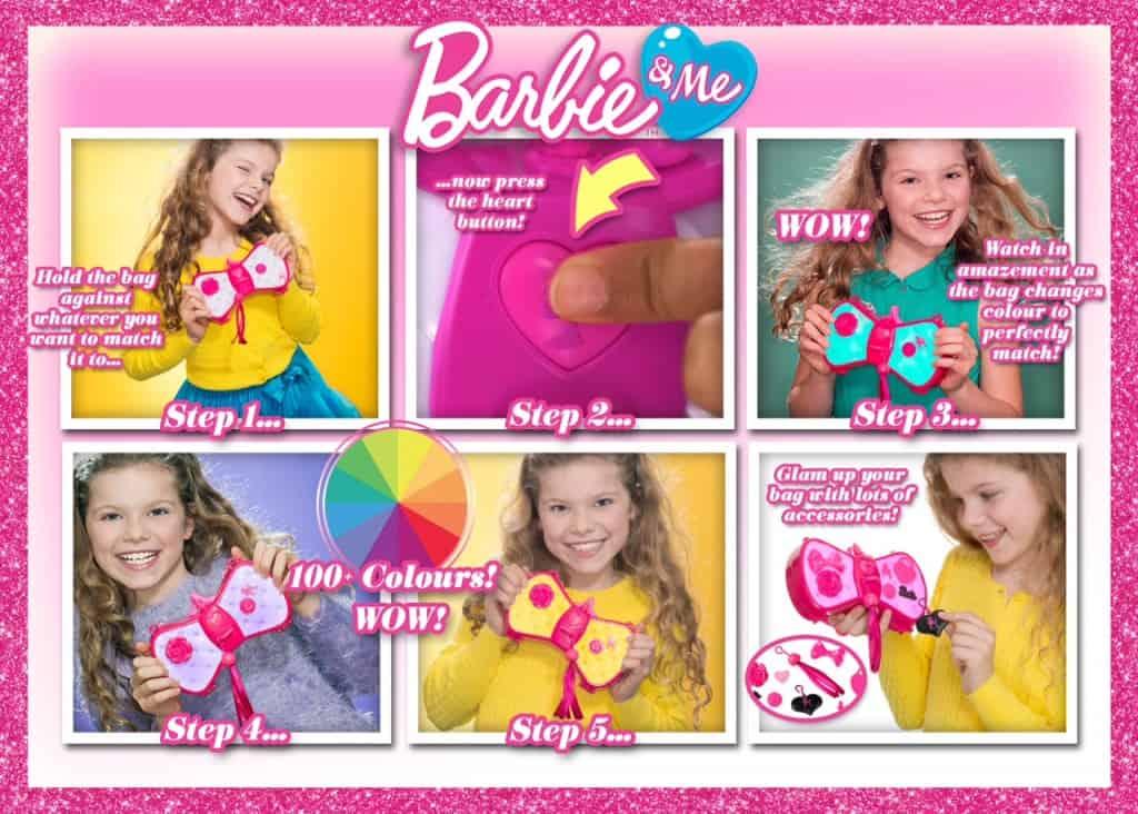 Barbie Glam Bag Step by Step