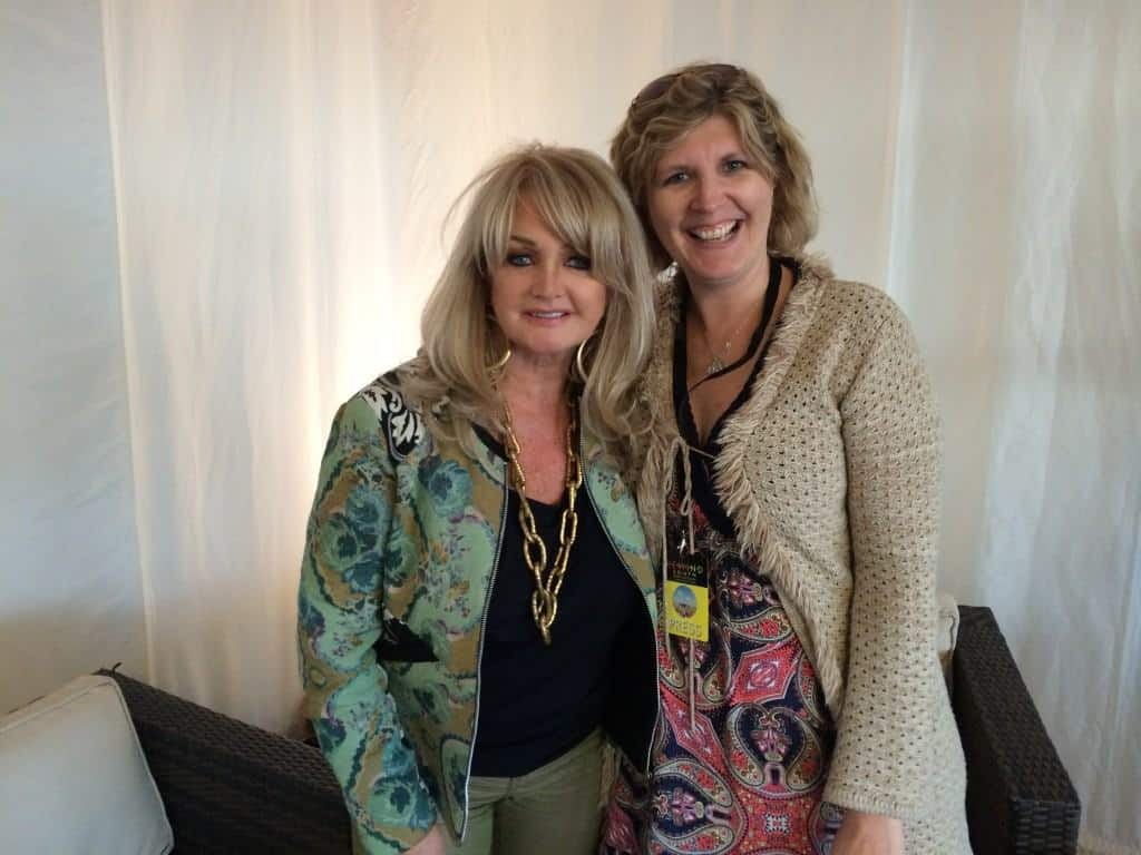 Rewind Festival South 2014. An Interview with Bonnie Tyler.