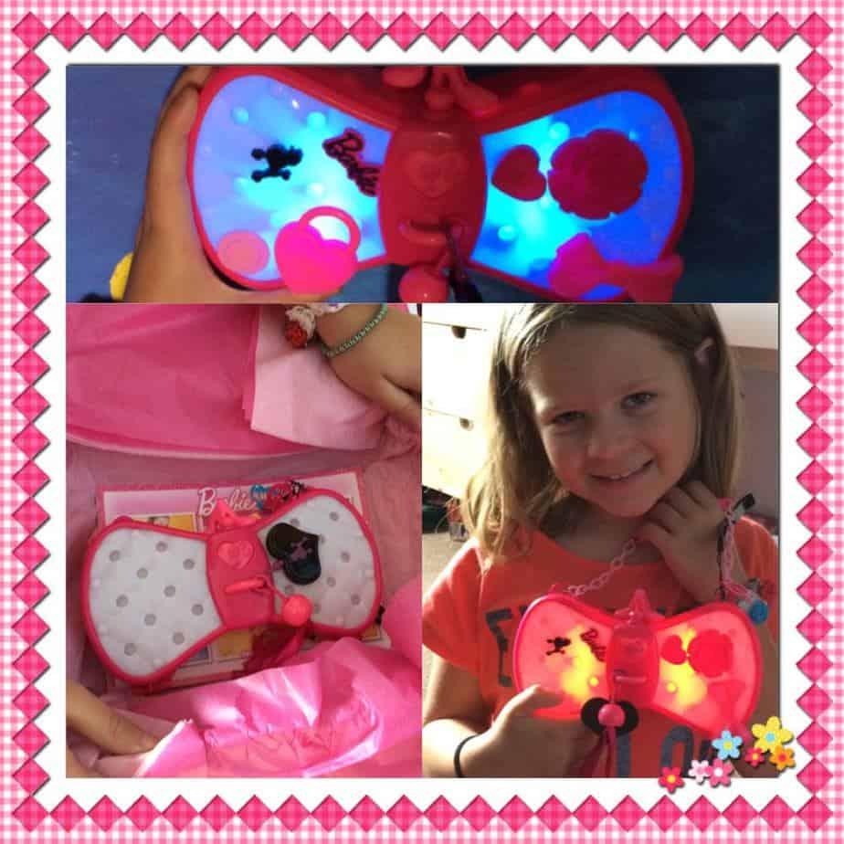 The Magical Barbie & Me Colour Change Glam Bag