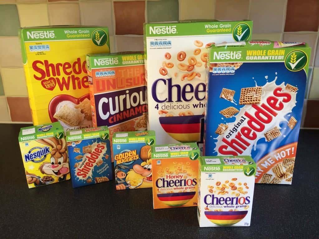 The Nestle Cereals Challenge