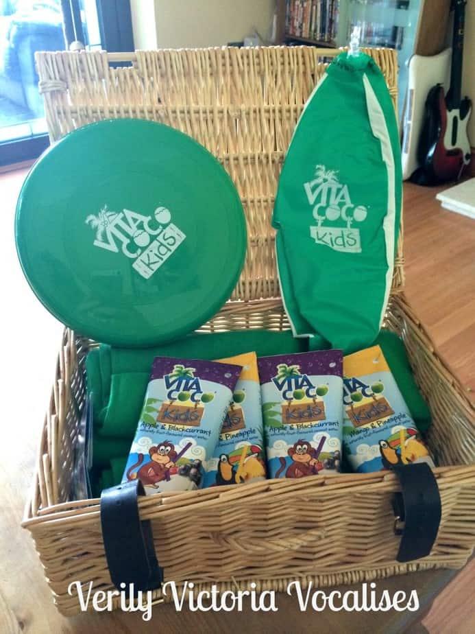 Our Vita Coco Kids Picnic Challenge and Grace's Recipe for Sunflower Bread
