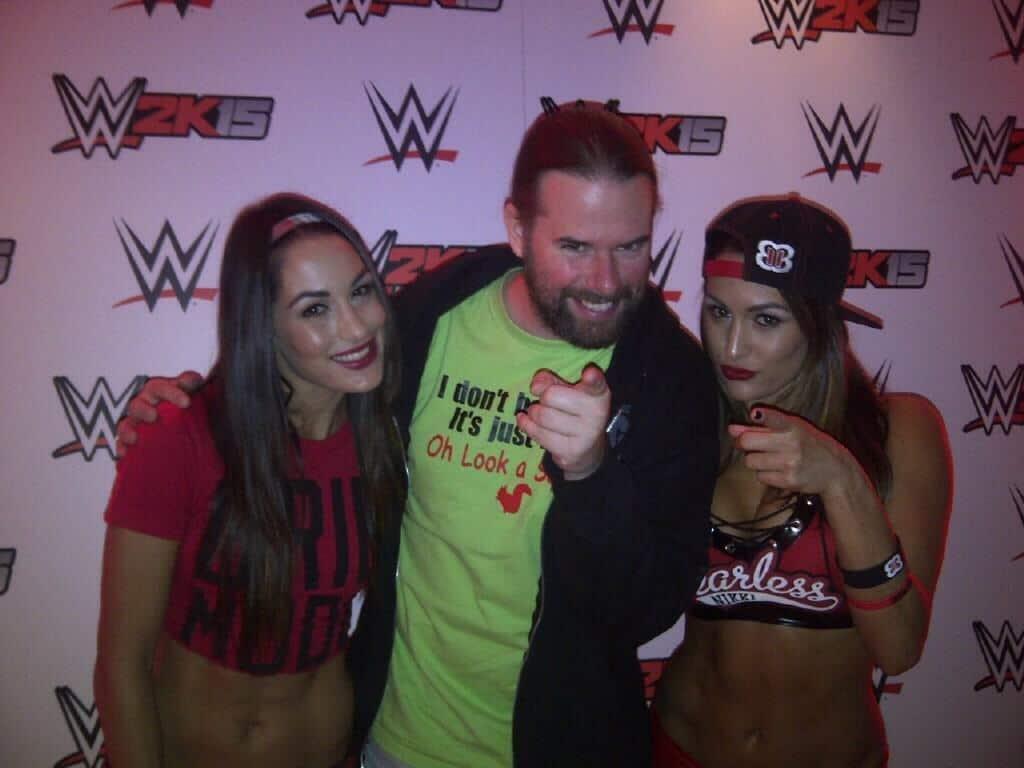 WWE VIP Event and November 2014 UK Tour
