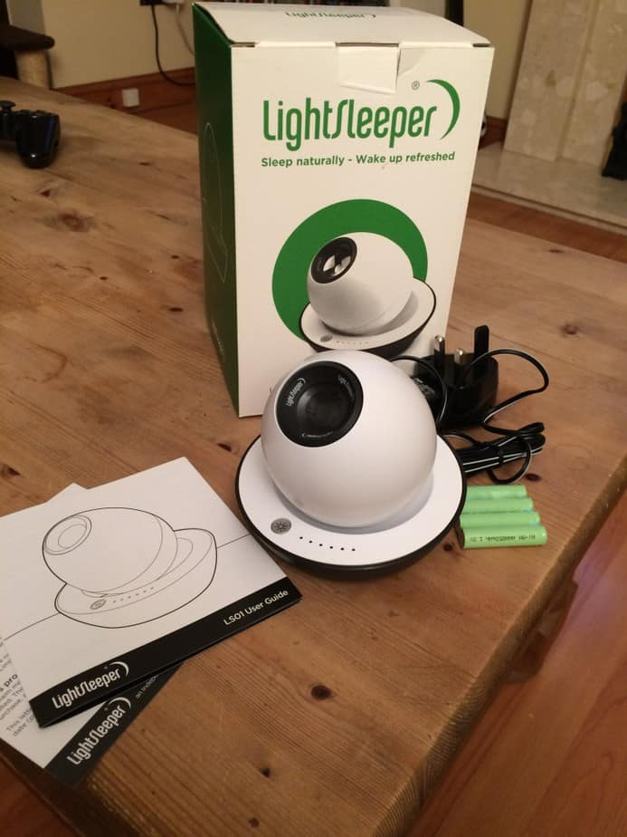A Review of the LightSleeper. Helping your child getting a better night's sleep.