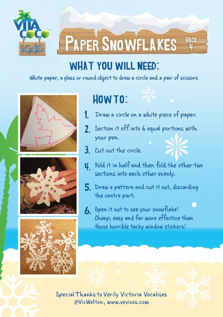 Our Vita Coco Kids Christmas Hacks