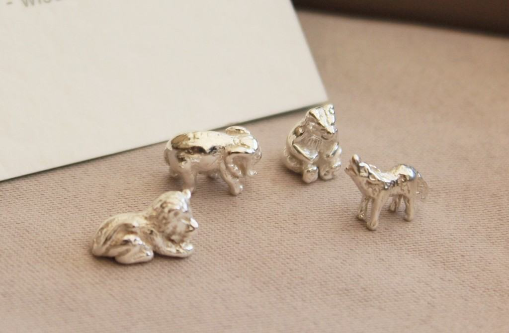 Sterling Silver Animal Zoo