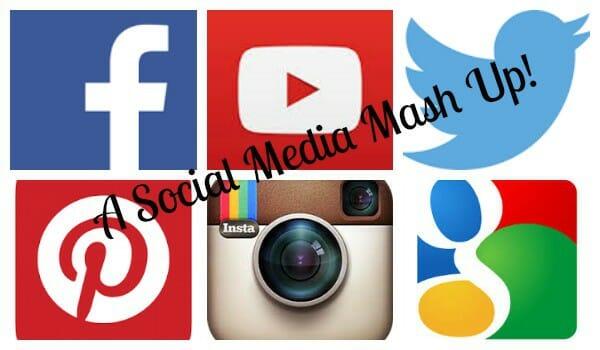 Social Follow Love #SoFoLo – this week it's a 'Mash Up'!