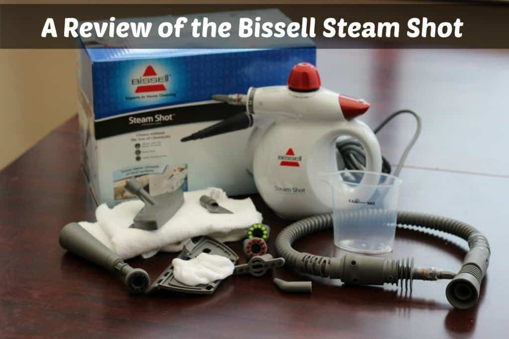 A Review of the Bissell Steam Shot