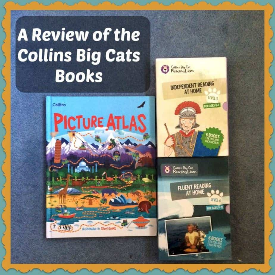 A Review of the Collins Big Cat Reading Lions Books and Collins Picture Atlas