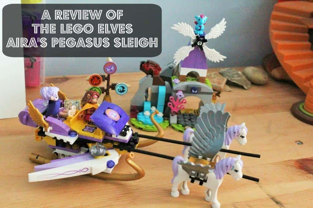 A Review of the LEGO Elves Aira's Pegasus Sleigh