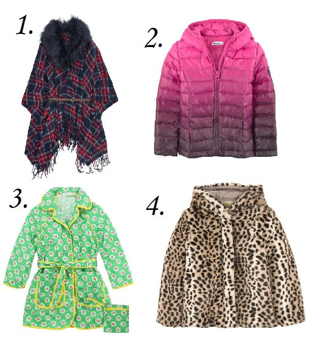 Girls Coats from Melijoe