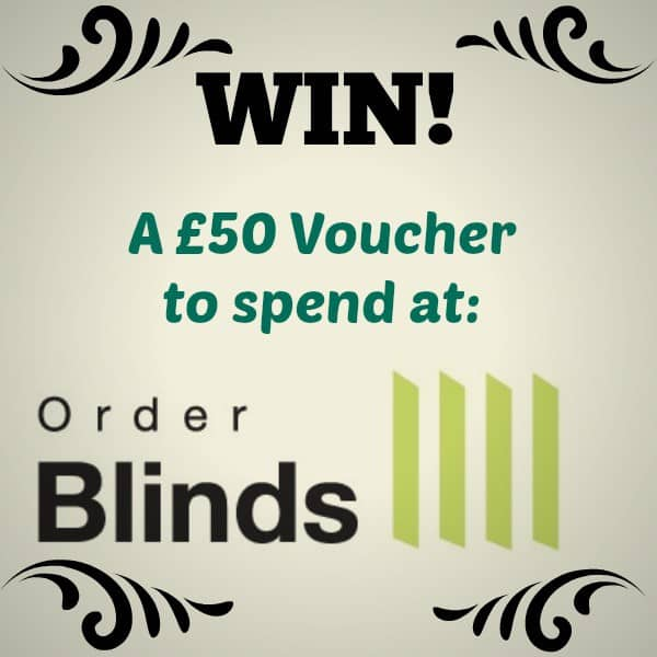 #WIN a £50 Voucher from Order Blinds