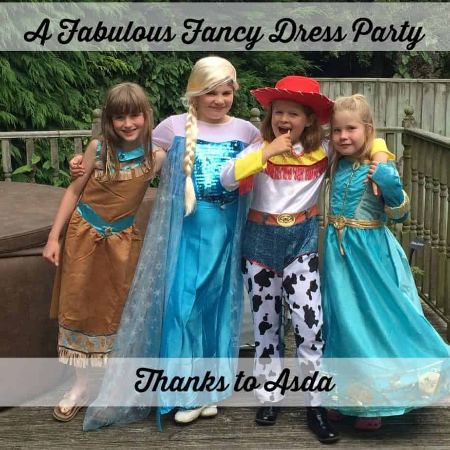 A Fancy Dress Party Courtesy of Asda – Verily Victoria Vocalises