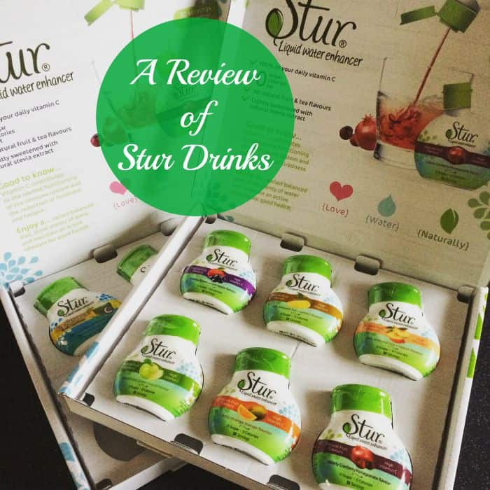 A Review of Stur Drinks Water Enhancers