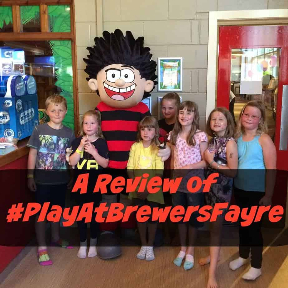 A Review of the New 'Play At Brewers Fayre' at The O'Bridge, Taunton #PlayAtBrewersFayre