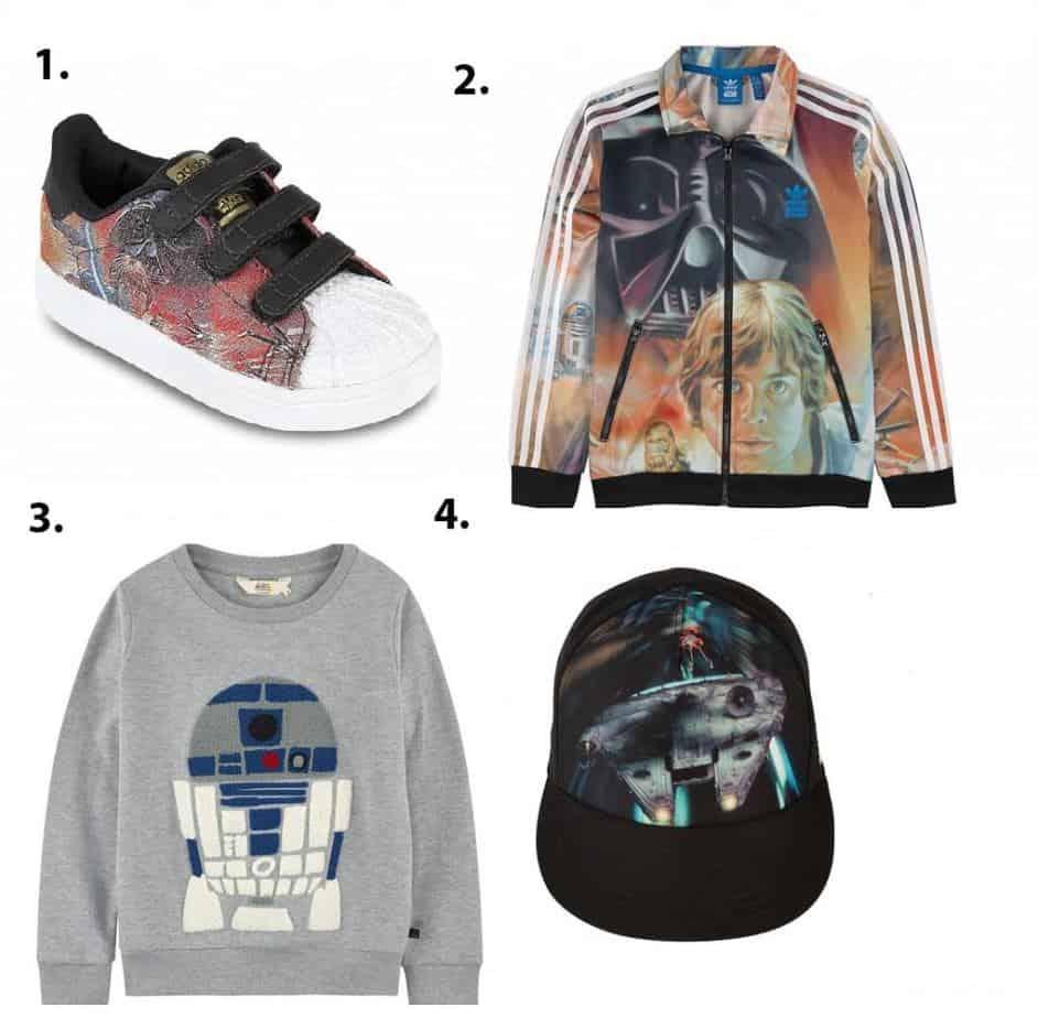 Selection of Star Wars Wear from Melijoe