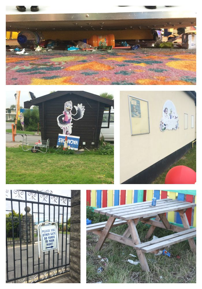 The State of Pontins, Brean Sands. Collage 1