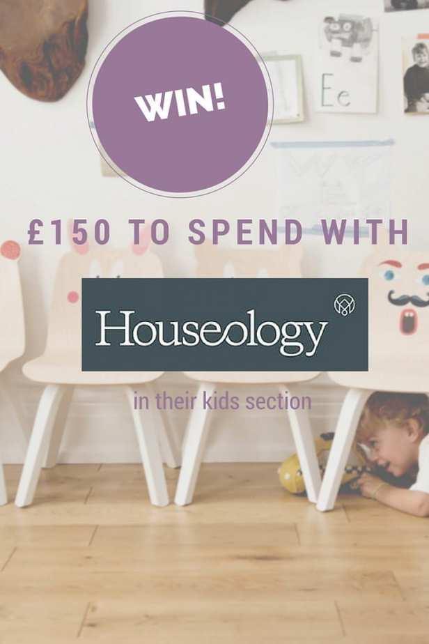 WIN £150 to spend with Houseology on their new Kids section Ends 22nd September 2015