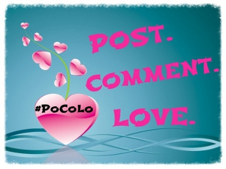 Post Comment Love. 25th to 27th September 2015