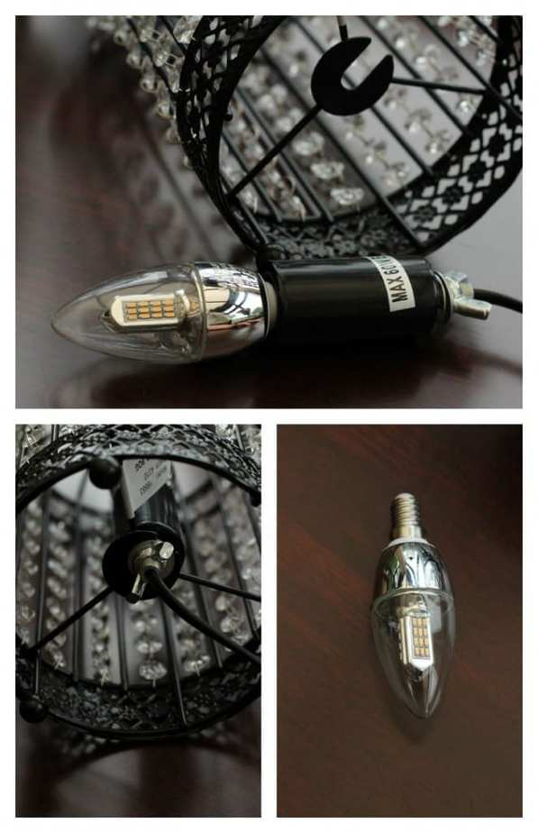 Birdcage Table Lamps Bulb fitting