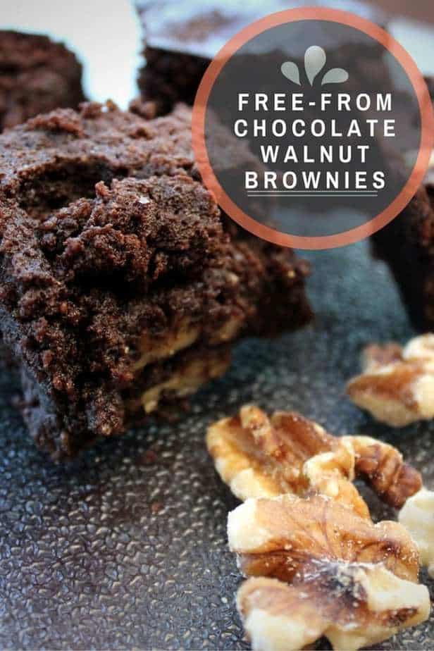 Free-From Chocolate Walnut Brownies Recipe