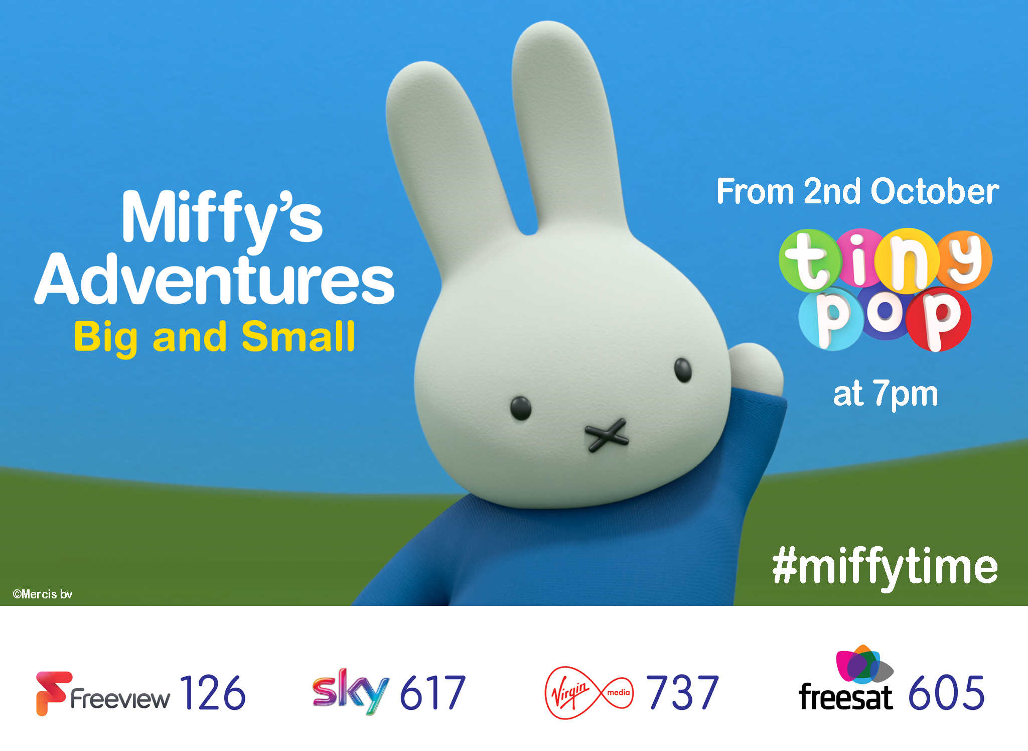 Miffy on Tiny Pop