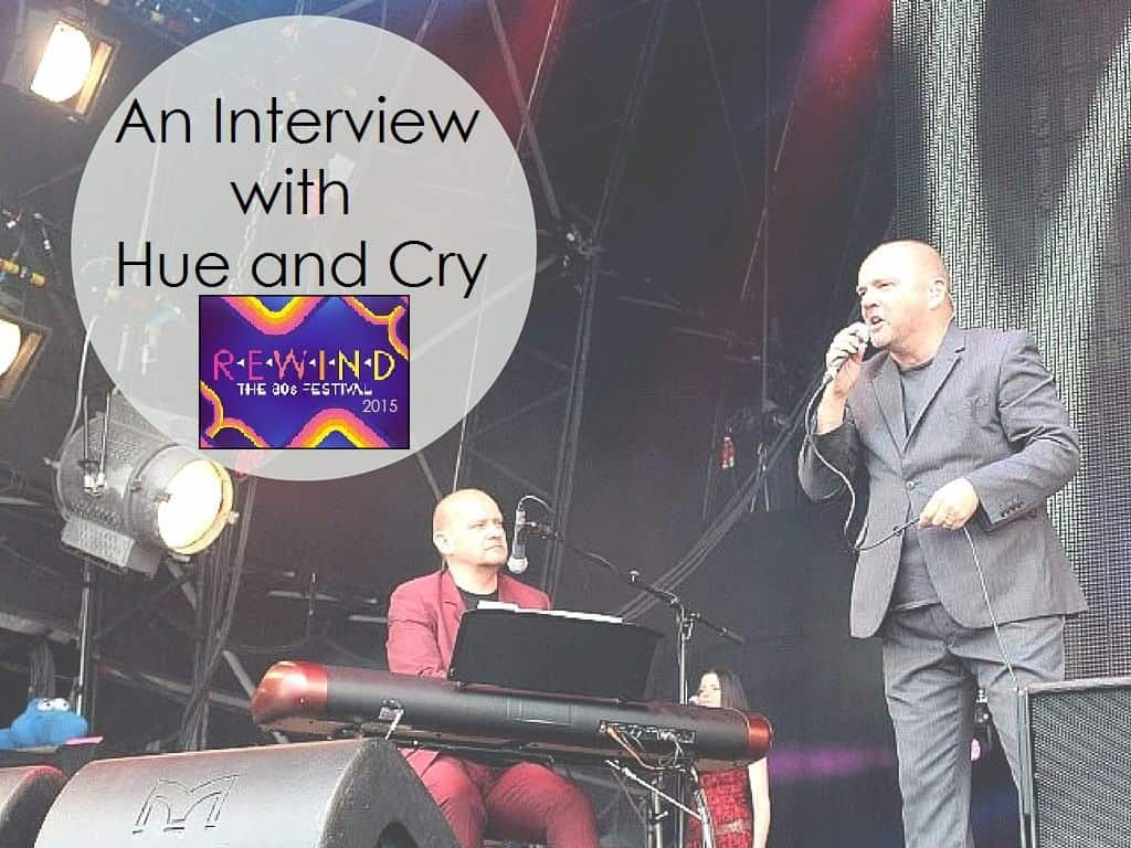 An Interview with Hue and Cry at Rewind Festival South 2015