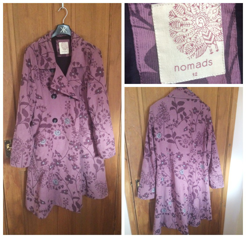 Esme Floral Coat from Nomads Clothing