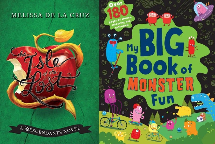 'The Isle of the Lost' and 'My Big Book of Monster Fun' A Parragon Book Buddy Review