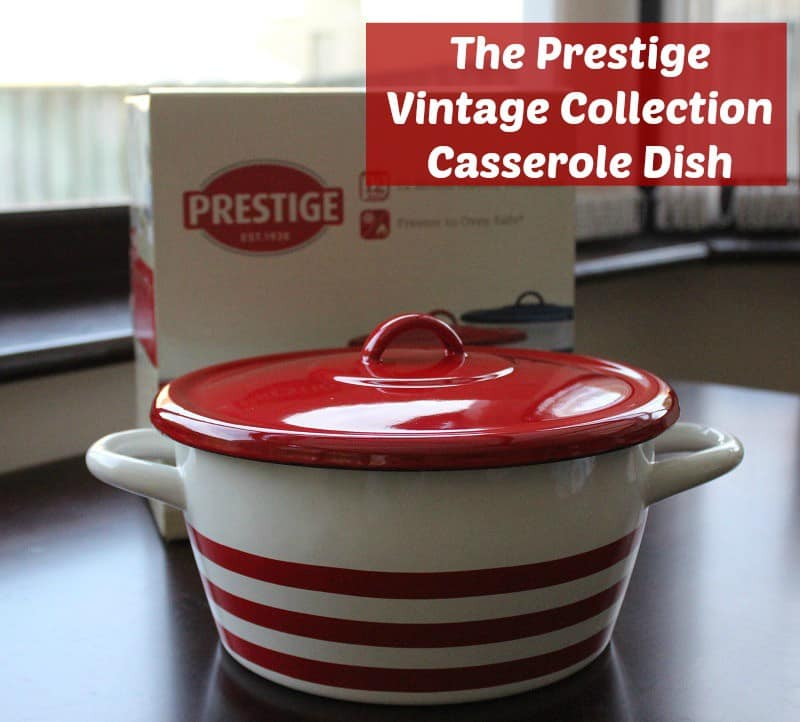 The Prestige Vintage Collection and a 'Free-From' Casserole Recipe