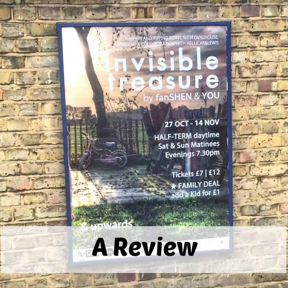 A Review of the Theatre Experience 'Invisible Treasure' by fanSHEN