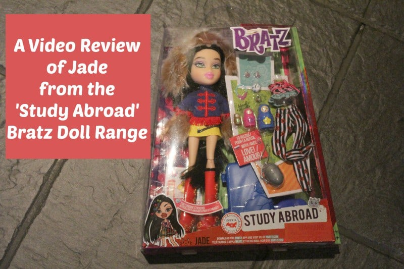 A Video Review of Jade from the Study Abroad Bratz Doll Range