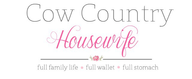 Cow Country Housewife logo 1115