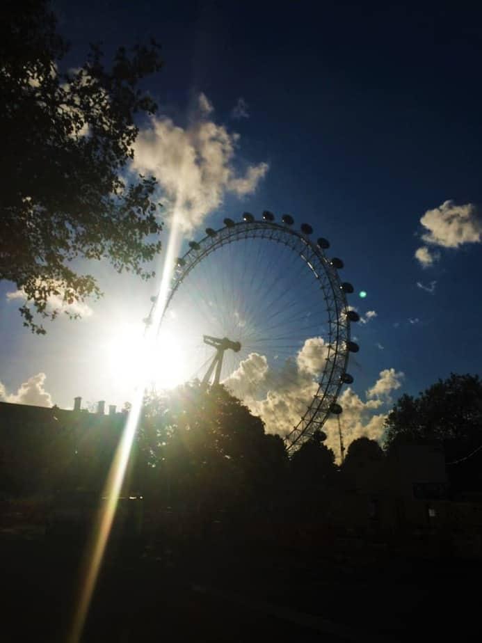 The Glint in London's Eye