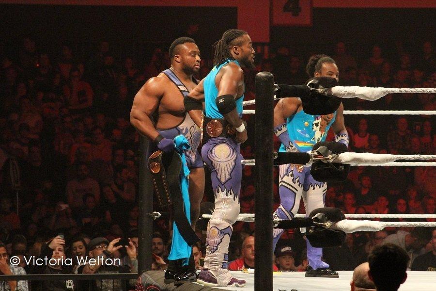 WWE Cardiff November 2015 New Day